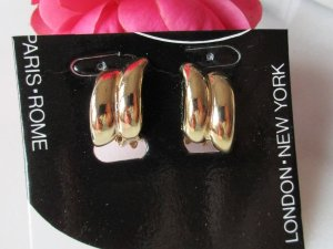 Earclip gold-colored metal