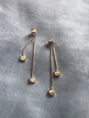 Pierre Lang Ear stud gold-colored-white