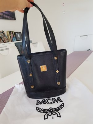 MCM Handbag black-gold orange