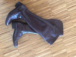 Elegante Overknee-Stiefel von Paola Prata, Größe 37, braun, 275,€