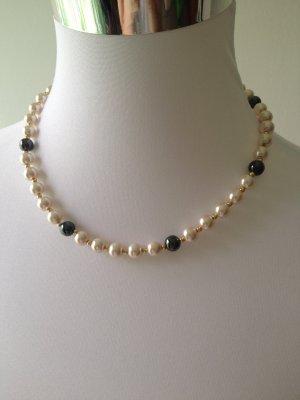 elegante Perlenkette mit passendem Armband, NEU