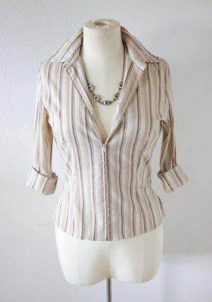 elegante Pin up Bluse mit Reißverschluss, 50er