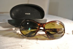 elegante Prada Sonnenbrille - Horn - Braun