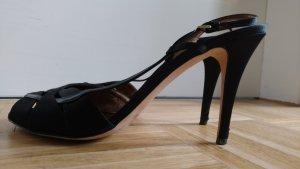 Elegante Pumps Sandale schwarz Escada Gr 41