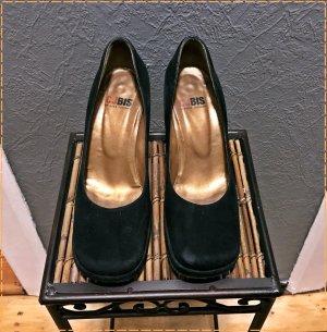 Charles Jourdan High Heels black leather