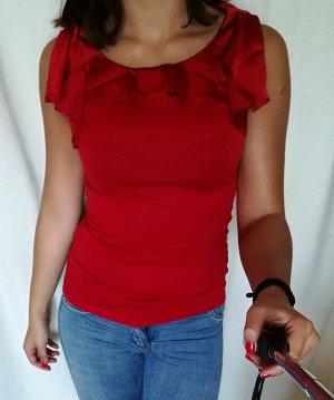 Elegante rote H&M Bluse