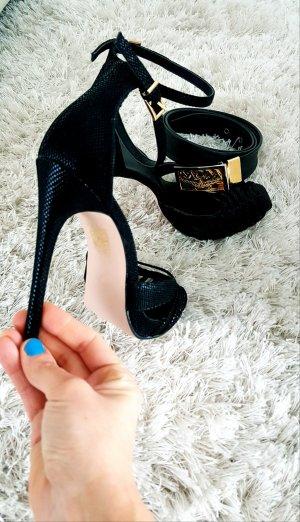 Elegante Sandalen mit Riemchendesign und Absatz ! Neu ! NEU