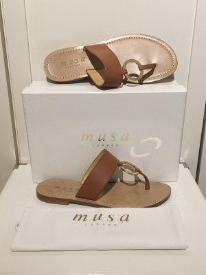 Elegante Sandaletten von Musa London in Größe 38