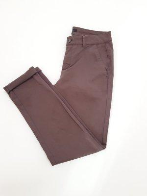 Comma Pantalone chino marrone chiaro-marrone-grigio