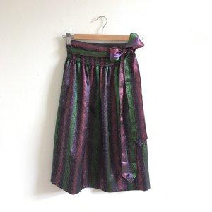 Folkloristische schort veelkleurig Polyester