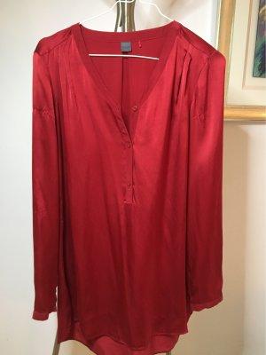 Sir Oliver Glanzende blouse donkerrood