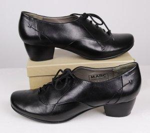 MARC Lace-up Pumps black leather