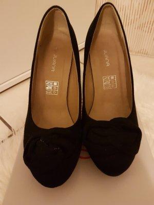 Elegante,schwarze Absatz Schuhe