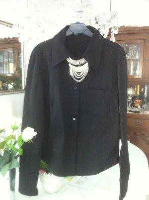 Elegante schwarze Bluse / Gr. 38 S / ONLY