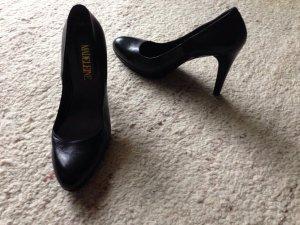 Elegante schwarze High Heels von Madeleine ungetragen