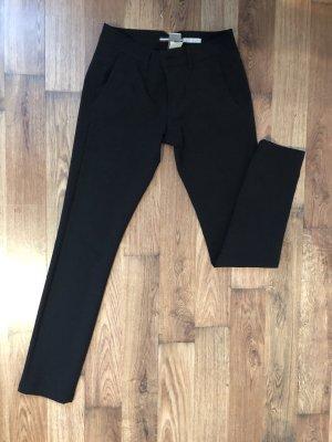 Elegante schwarze Hose Please XXS