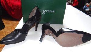 Elegante schwarze Paul Green Pumps, Größe 40, neuwertig