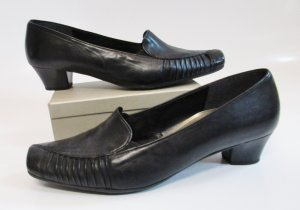 Gabor Comfort Loafers zwart Leer