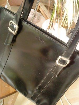 elegante schwarze Shoppertasche von s.Oliver