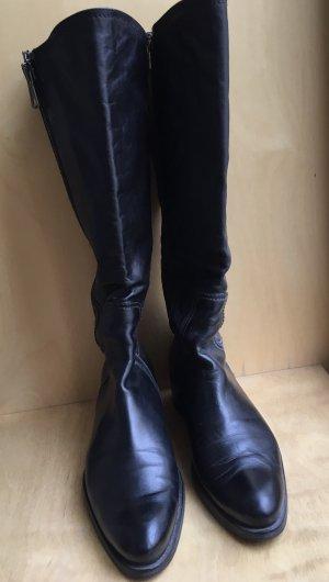 Alberto Fermani Heel Boots black leather