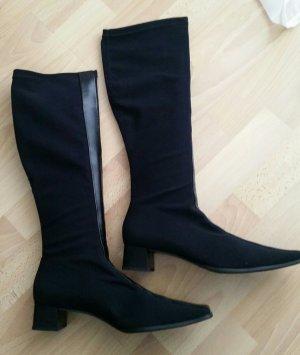 Elegante schwarze Stiefel von Paul Green, Gr. 7 1/2, ungetragen !