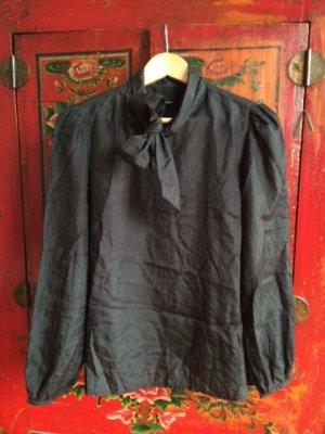 Vero Moda Blouse en soie noir soie