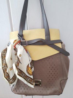 Elegante Shopper Tasche von MONNARI Grau, wie neu