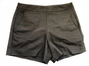 Hallhuber Pantaloncino a vita alta nero