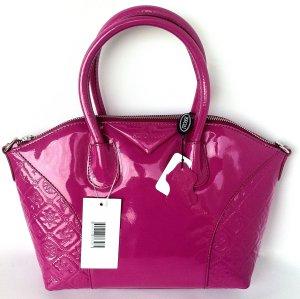 Elegante Silvio Tossi Henkel Handtasche Pink