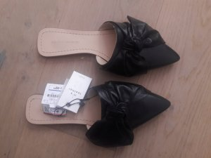 Zara Sabots black