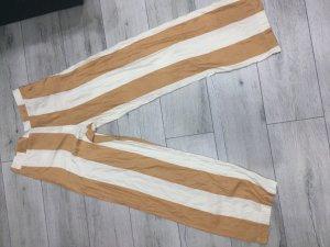 Please Pantalone di lino multicolore