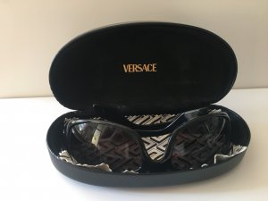 Versace Oval Sunglasses black