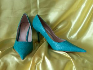 Pointed Toe Pumps lime-green