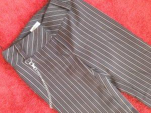 elegante Stoffhose,gestreift mit Kette,Gr.34, Graceland