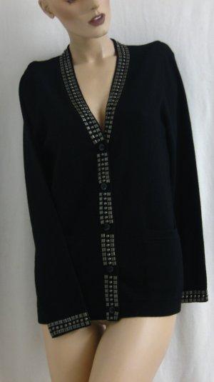 elegante Strickjacke/Blazer (90% Wolle,10% Kaschmir) Gr.36/38