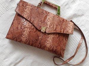 Elegante Tasche Animal Schlange Muster