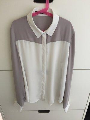 Elegante transparente Bluse