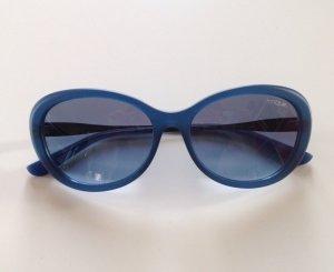 Elegante Vogue Sonnenbrille blau dunkelblau Farbverlauf w. NEU