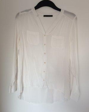 Elegante weiße Bluse