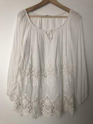 Elegante Weiße Bluse/Gr.36