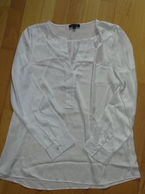 Elegante weiße Bluse Marie Lund Copenhagen