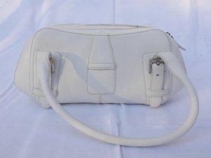 """Elegante weiße LOEWE Tasche Modell """"Letizia"""" aus echtem Leder"""