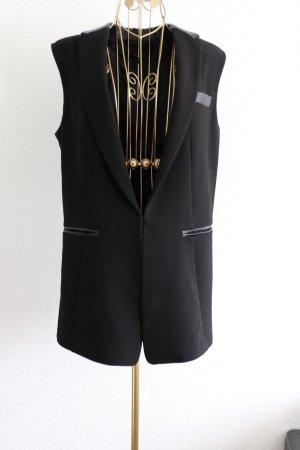 H&M Gilet de costume noir