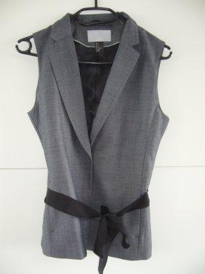 Elegante Weste grau H&M XS 34 neu ohne Etikett
