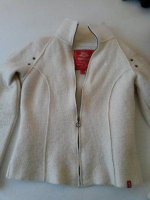 elegante Wollfleece Jacke von Esprit