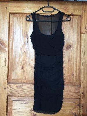 eleganten schwarzes Röhrenkleid