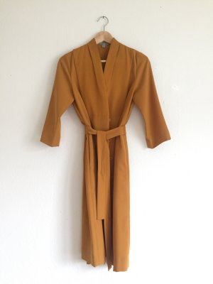Eleganter 3/4 ärmeliger Kimono von COS in orange/senffarbe