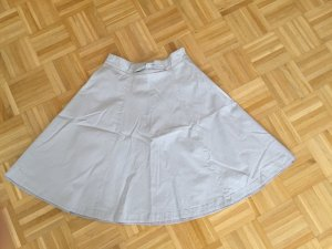 H&M Circle Skirt oatmeal-cream