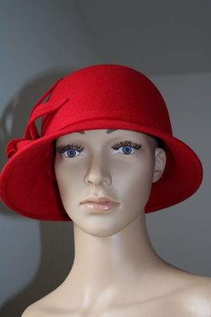 Woolen Hat red wool