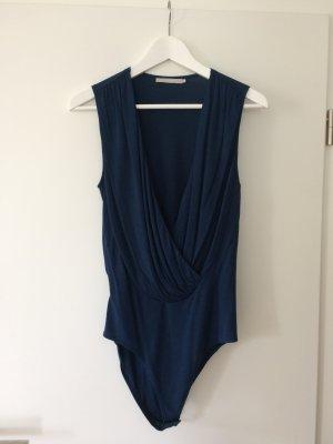 Eleganter Blauer Body von Stefanel, Größe M